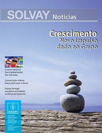 Comunicação interna - Solvay em Portugal