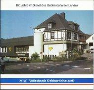 J - Volksbank Gebhardshain eG
