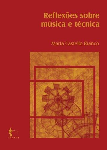 Reflexoes sobre musica e tecnica.indd - RI UFBA - Universidade ...