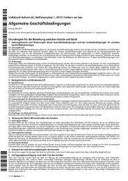 Jahresbericht 2011 Volksbank Haltern Eg