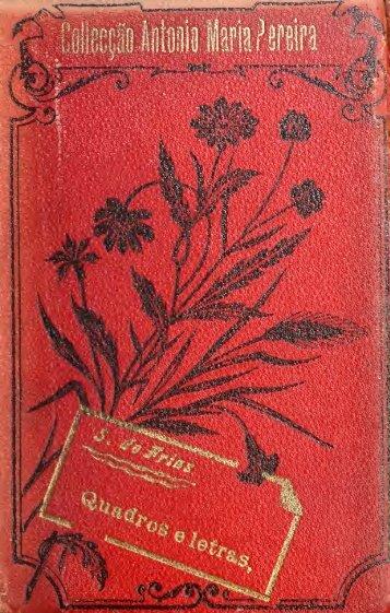 Quadros e lêtras, histórias e romancêtes