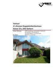 Verkauf 4½-Zimmer-Doppeleinfamilienhaus ... - VERIT Immobilien