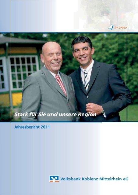 Geschäftsbericht 2011 der Volksbank Koblenz Mittelrhein eG