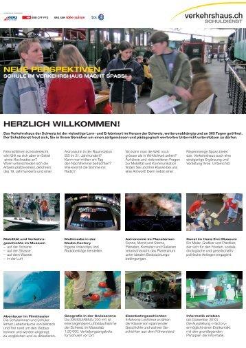 Neue Perspektiven - Verkehrshaus der Schweiz