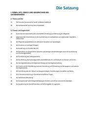 Die Satzung - Volksbank Saaletal eG