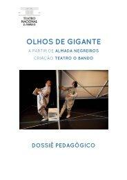 OLHOS DE GIGANTE - Teatro Nacional D.Maria II