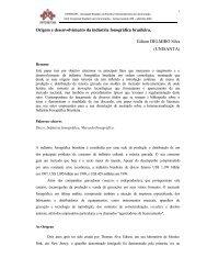 Origem e desenvolvimento da indústria fonográfica ... - Intercom