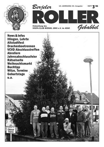 Berjeler ROLLER - Vespa-Club Bürgel