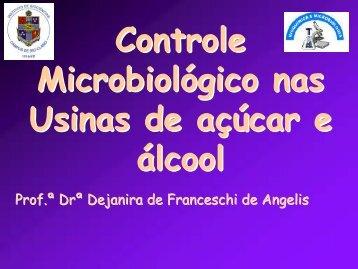 Controle microbiológico nas usinas de açúcar e álcool - CCA