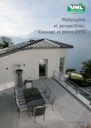 Produits standards/ Pierres naturelles - UHL Verbundstein AG