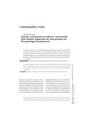 dissertações e teses - Editora Escuta