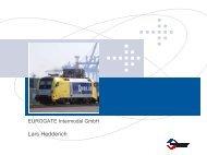 Präsentation von Europas größtem Container-Terminal ... - VCD