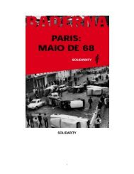 Paris: Maio de 68 - Solidarity - eBooksBrasil