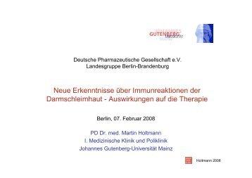 Neue Erkenntnisse über Immunreaktionen der Darmschleimhaut ...