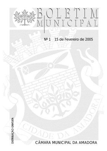 Boletim Municipal - Câmara Municipal da Amadora