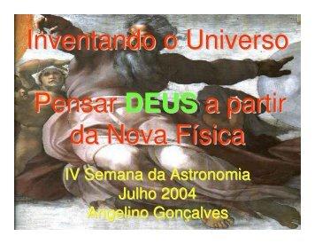 Investigação do Universo