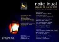 24.03.2012 noite igual programa - MIAU ASSOCIAÇÃO CULTURAL