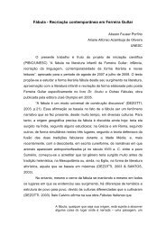 Fábula - Recriação contemporânea em Ferreira Gullar - pucrs