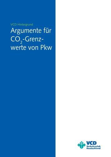 Argumente für CO2-Grenzwerte von Pkw - VCD