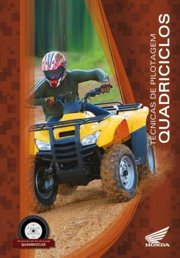 Técnicas de Pilotagem Quadriciclos - Honda