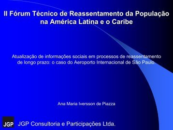 Obras de Ampliação do Aeroporto Internacional de São Paulo