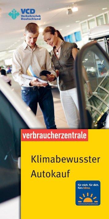 Klimabewusster Autokauf - VCD