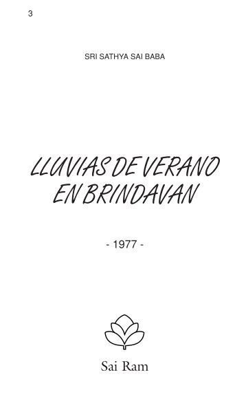 Libro Digital - Fundación Sathya Sai Baba de Argentina