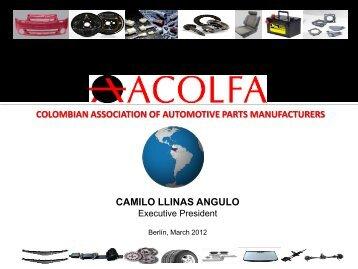 colombian association of automotive parts manufacturers