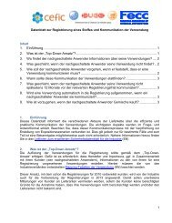 Factsheet onRegistration of a substance and use ... - beim VDA