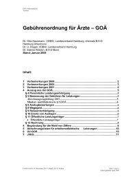 GOÄ - Verband Deutscher Betriebs- und Werksärzte e.V.