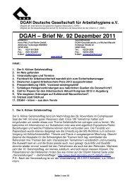 DGAH – Brief Nr. 92 Dezember 2011 - Verband Deutscher Betriebs ...