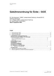 Gebührenordnung für Ärzte - Verband Deutscher Betriebs- und ...