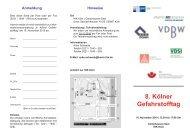 gefstoffv-einladung 16.11.2010:gefstoffv-einl3.qxd.qxd - Verband ...