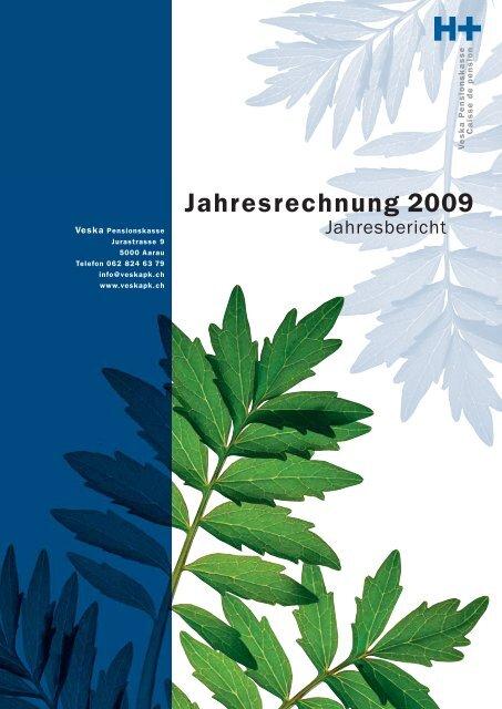 Jahresrechnung 2009 - Veska