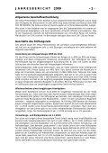 Jahresrechnung 2009 - Veska - Seite 2