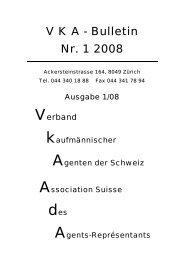 V K A - Bulletin Nr. 1 2008