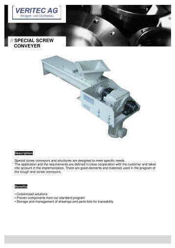 VERITEC_Spezial screw conveyer EN - veritec.ch