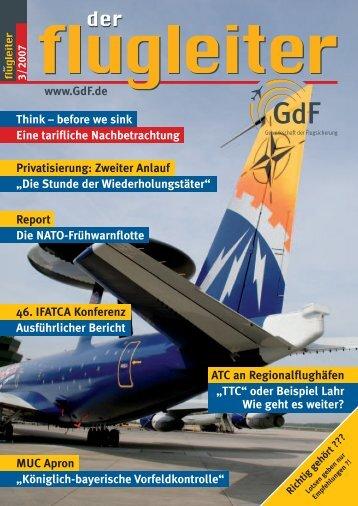 Königlich-bayerische Vorfeldkontrolle - GdF Gewerkschaft der ...