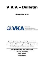 VAKANTEVERTRETUNGEN - VKA - Verband kaufmännischer ...