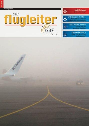 1/2013 - GdF Gewerkschaft der Flugsicherung eV