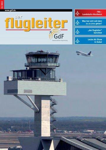 der flugleiter - GdF Gewerkschaft der Flugsicherung eV