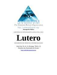 O Pensamento de Lutero - Ordo Svmmvm Bonvm
