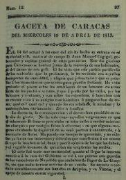 Ejemplar No.12, 1815-04-19 - Bitacora CIC UCAB