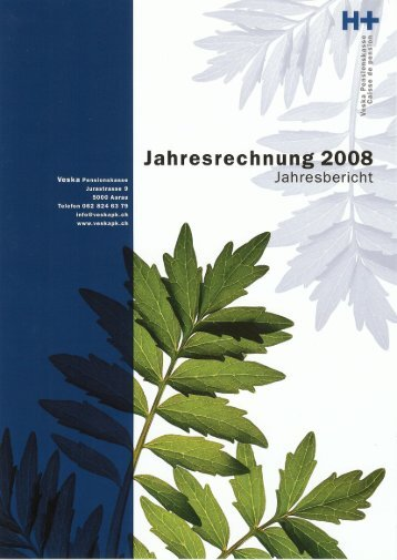 Jahresbericht 2008 - Veska