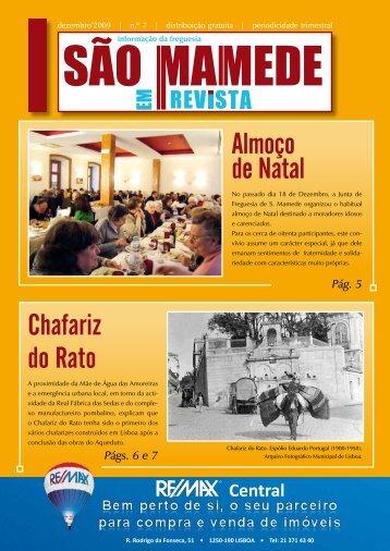 Almoço de Natal Chafariz do Rato - Junta de Freguesia de São ...