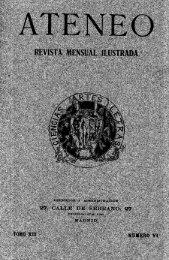 REVISTA MENSUAL ILUSTRADA - Ateneo de Madrid