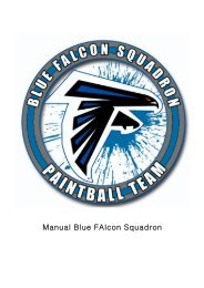 Manual Blue FAlcon Squadron