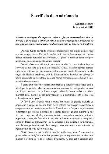 Sacrifício de Andrômeda - Academia Brasileira de Defesa