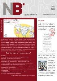 newsletter - março - Câmara Municipal de Oliveira do Bairro