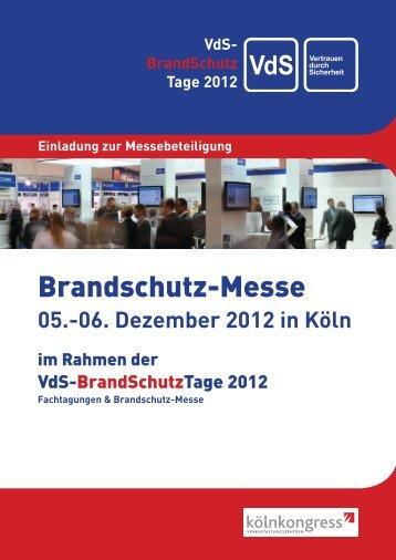 Brandschutz-Messe 2012 - VdS